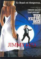 CPM - TUER N'EST PAS JOUER 1987 - James Bond - Timothy DALTON - Edit. NUGERON N° E. 423 - Scans Recto-Verso - Plakate Auf Karten