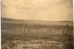 PHOTO ALLEMANDE - TRANCHEE DU 6e IR  ( BAVAROIS ) A CHAUVONCOURT PRES SAINT MIHIEL - MEUSE GUERRE 1914 1918 - 1914-18