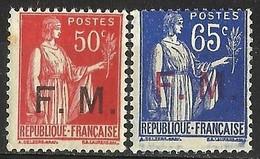 FRANCE -- 1933 & 1937 MNH - Ungebraucht
