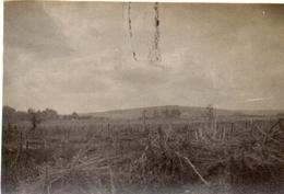 PHOTO ALLEMANDE - TRANCHEE DU 6e IR  A CHAUVONCOURT ET FORT DE PAROCHES PRES DE SAINT MIHIEL - MEUSE GUERRE 1914 1918 - 1914-18