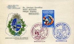 42472 Uruguay, Fdc 1985,  Campeonato Mundial De Pelota Vasca, Pelota Vasca Worls Champ. - Other