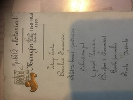 Jubilé Notarial Mangin Claude Victor Émile 1808-1883-1908 A Voir - Menus