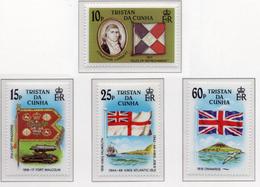 1985 - TRISTAN DA CUNHA - Yv.  Nr. 373/376 - NH - (UP131.9) - Tristan Da Cunha