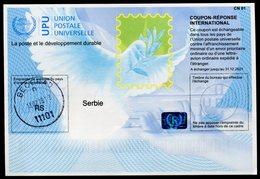 SERBIE  Coupon Réponse International / International Reply Coupon - Serbie