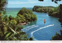 JAMAICA-PORT ANTONIO-BLUE LAGOON - Cartoline
