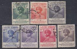 Ethiopie N° 308 / 14 X, O : 60ème Ann. De L'empereur Haïlé Sélassié La Série Des 7 Vals Tr Ch Ou Oblitérées, Sinon TB - Ethiopie