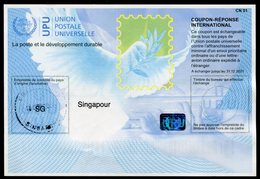 SINGAPOUR  Coupon Réponse International / International Reply Coupon - Singapour (1959-...)