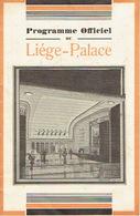 LIEGE 1940 -Programme Cinéma LIEGE-PALACE-12 PAGES-Illustrateur NOVGORODSKY-L.JOUVET & L.HARVEY Dans Sérénade éternelle - Programmes