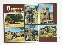 Cp , 20 , 2A ,  Corse Du Sud , Multi Vues ,FILITOSA ,haut Lieu De La Préhistoire Corse, Voyagée 1980 , Ed. Combier - Other Municipalities