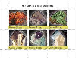 Guinea Bissau 2004  Minerals & Meteorites - Guinea-Bissau