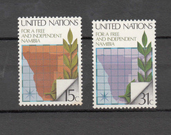 NATIONS  UNIES  NEW-YORK  1979  N° 304 - 305     NEUFS**   CATALOGUE YVERT&TELLIER - New York -  VN Hauptquartier