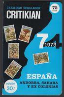 España 1974. Catalogo Critican. - Spagna