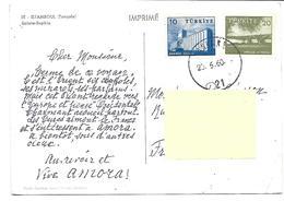 Europe-Turqiie-ISTANBOUL- Une Vue De *Sainte SOPHIE*-PUB.Collection AMORA-TIMBRE-Obliteration-1960- - Turchia