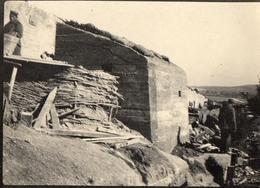 PHOTO ALLEMANDE - BUNKER ABRI BETON POSITION DU 6e IR AU NORD DE CHAUVONCOURT DE SAINT MIHIEL - MEUSE GUERRE 1914 1918 - 1914-18