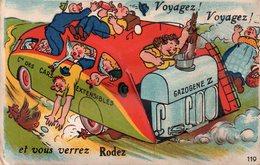 CARTE à SYSTEME De RODEZ. - Rodez