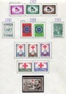11218 BELGIQUE  Collection Vendue Par Page N°1089/1101 */°  1958-59  TB - Belgique