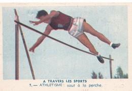 Vers 1950 LES SPORTS / ATHLETISME / SAUT A LA PERCHE - Athlétisme
