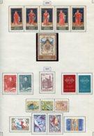 11219 BELGIQUE  Collection Vendue Par Page N°1102/1120 */°  1959-60  TB - Belgique