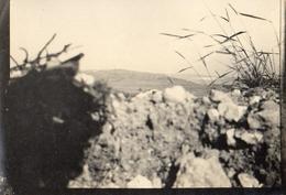PHOTO ALLEMANDE - TRANCHEE DU 6e IR  A CHAUVONCOURT ET LES PAROCHES PRES DE SAINT MIHIEL - MEUSE GUERRE 1914 1918 - 1914-18