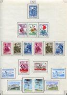 11220 BELGIQUE  Collection Vendue Par Page N°1121/1138 */°  1960  TB - Belgique