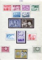 11221 BELGIQUE  Collection Vendue Par Page N°1139/1152 *  1960  TB - Belgique