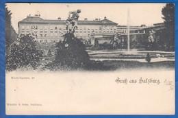 Österreich; Salzburg; Mirabellgarten; 1898 - Salzburg Stadt