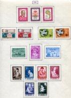 11224 BELGIQUE  Collection Vendue Par Page N°1188/1203 *  1961  TB - Belgique
