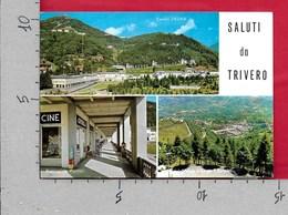 CARTOLINA VG ITALIA - Saluti Da TRIVERO (VC) - Vedutine Multivue - 10 X 15 - ANN. 1969 - Saluti Da.../ Gruss Aus...