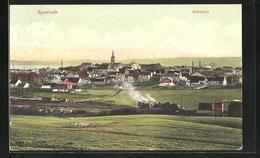 AK Apenrade, Aabenraa, Dampflok - Danimarca