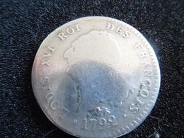Piece De 30 Sol De  Louis XVI - An 4 -   1792 A -  En Argent - 987-1789 Monnaies Royales