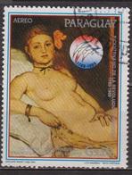 Bicentenaire De La Révolution Française - PARAGUAY - Peinture Impressionniste - Edouard Manet: Olympia - 1989 - Paraguay