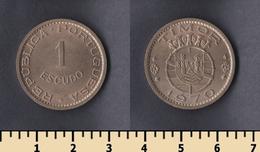 Portuguese Timor 1 Escudo 1970 - Timor