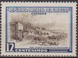 Paysages - URUGUAY - Port De Montevidéo - N° 631 ** - 1954 - Uruguay
