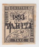TAHITI. TAXE. N° 14*  ( PAS DE SIGNATURE ) - Tahiti (1882-1915)