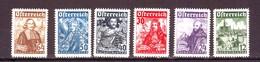 AUSTRIA AUTRICHE OSTERREICH 1933  ASSEDIO DI VIENNA 6 Val MNH** - 1918-1945 1. Republik