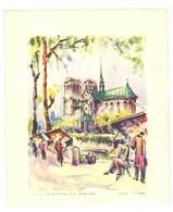 PARIS - Notre Dame Et Les Bouquinistes - Signé : GIRARD  (VP 838) - Lithographies