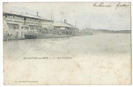 CPA Bateau Navire De Guerre Cuirassé Torpilleurs Rochefort Sur Mer - Guerre