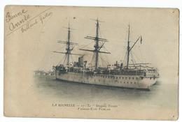 CPA Bateau Navire De Guerre Duguay Touin Vaisseau école Trois Mats Voilier - Guerre