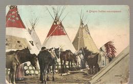 CPA CANADA?  A Peigen Indian Encampment - Canada