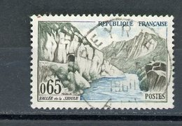 "FRANCE - LA SIOULE - N° Yvert 1239 Belle Obliteration Ronde De ""BELLEY""  1960 - France"