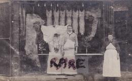CARTE PHOTO ,66,PYRENEES ORIENTALES,PERPIGNAN,COMMERCE,BOUCHERIE,RUE MIRABEAU,RARE - Perpignan