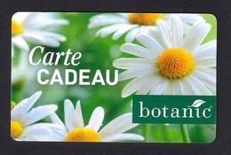 Carte Cadeau  BOTANIC.   Gift Card. Geschenkkarte - Cartes Cadeaux