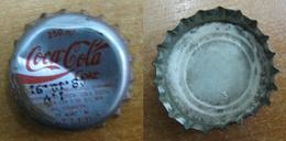 AC - COCA COLA  TIN CAP  FROM TURKEY - Soda