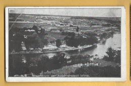 C.P.A. WILNA - Kasernenstadt - Feldpost 3/01/1918 - Lituanie