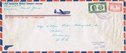 31564. Carta Aerea BALBOA (Panama) Canal Zone 1954 To USA - Panamá