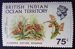 Ocean Indien British Indian Ocean Territory 1971 Fleur Flower Yvert 40 ** MNH - British Indian Ocean Territory (BIOT)