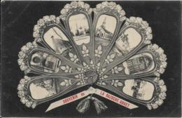 D28 - LA BAZOCHE GOUET - SOUVENIR DE LA BAZOCHE GOUET - MULTIVUES DANS UN EVENTAIL - Carte Fantaisie - France