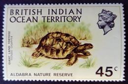 Ocean Indien British Indian Ocean Territory 1971 Animal Tortue Turtle Yvert 39 ** MNH - British Indian Ocean Territory (BIOT)