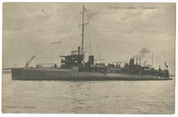 CPA Bateau Navire De Guerre Cuirassé Contre-torpilleur Durandal - Guerre