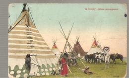 CPA CANADA?  A STONEY Indian Encampment - Canada